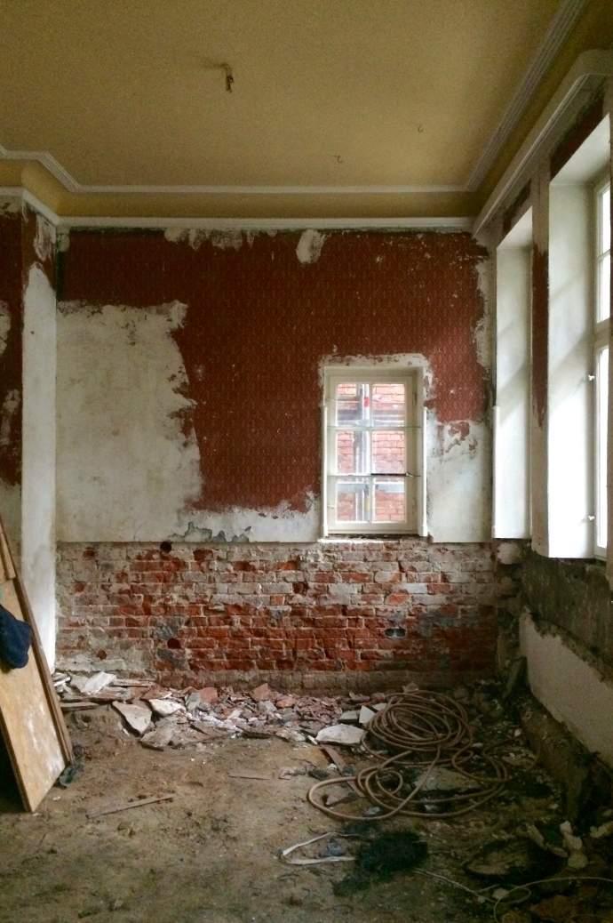 Baustelle Kutscherhaus Brahmsallee
