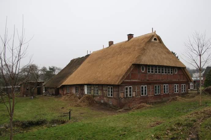 """Jugendbauhütte Hamburg"" im Hufnerhaus Moorfleet"