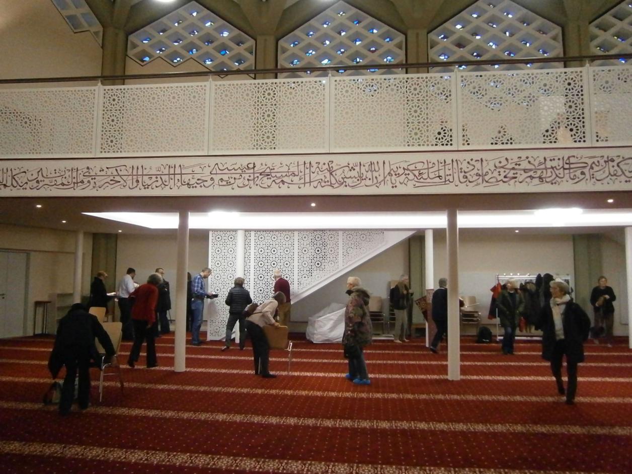 Besichtigung Al-Nour-Moschee (ehem. Kapernaum-Kirche)