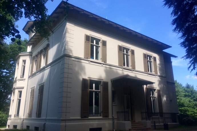 Besichtigung Amsinck-Villa