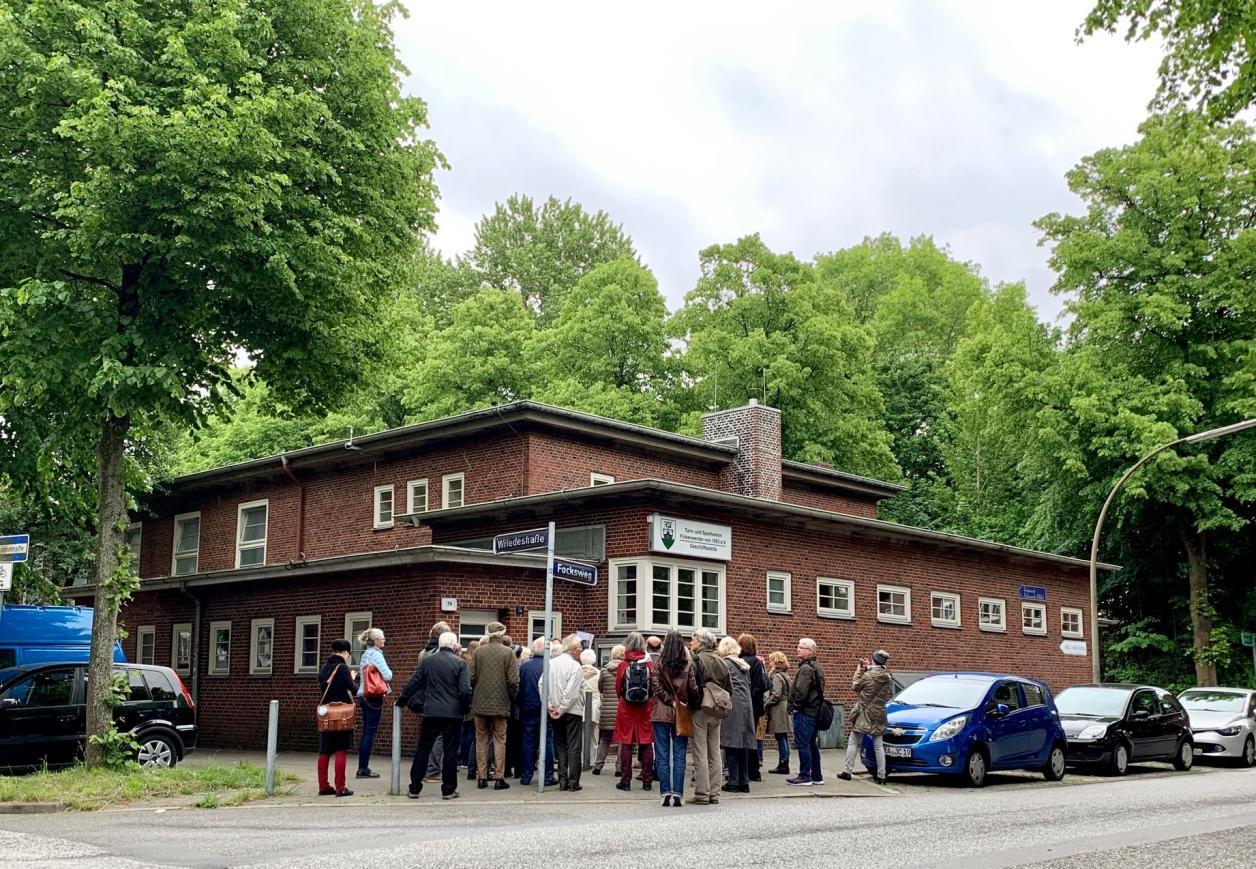 Besichtigung Gorch-Fock-Halle Finkenwerder