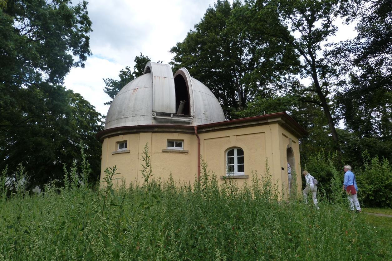 Besichtigung Hamburger Sternwarte