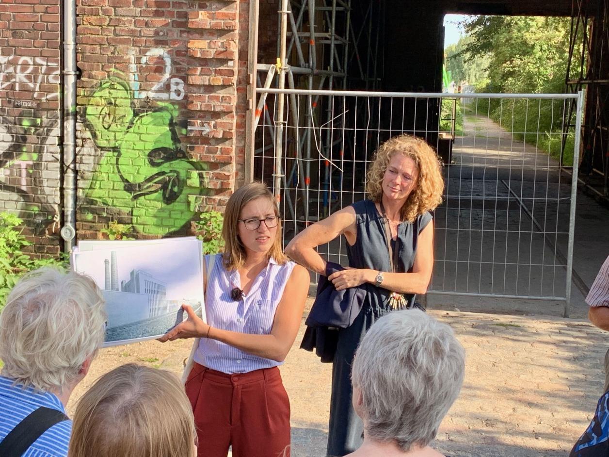 Louisa Schwope und Frauke Wöhrmann, Foto: Kristina Sassenscheidt
