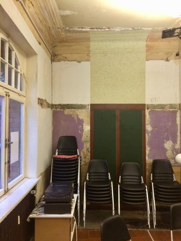 Der Gemeinschaftsraum, Foto: Kristina Sassenscheidt
