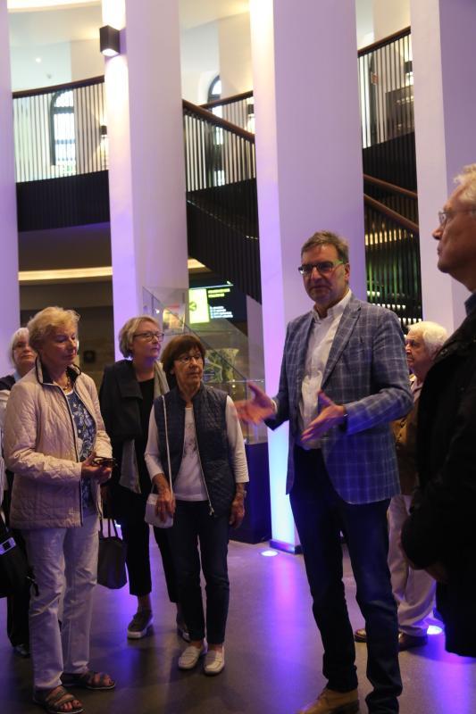 Der Direktor des Planetariums, Thomas Graupe, Foto: Christiane Maier