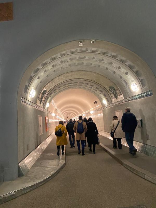 Sanierte Tunnel-Röhre, Foto: Andrea von Teuffel