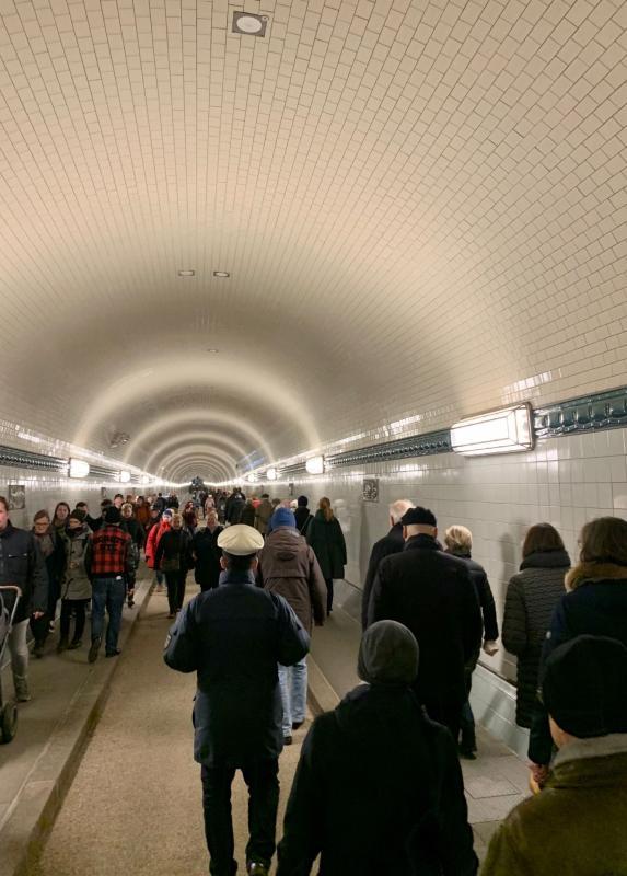 Sanierte Tunnel-Röhre, Foto: Kristina Sassenscheidt