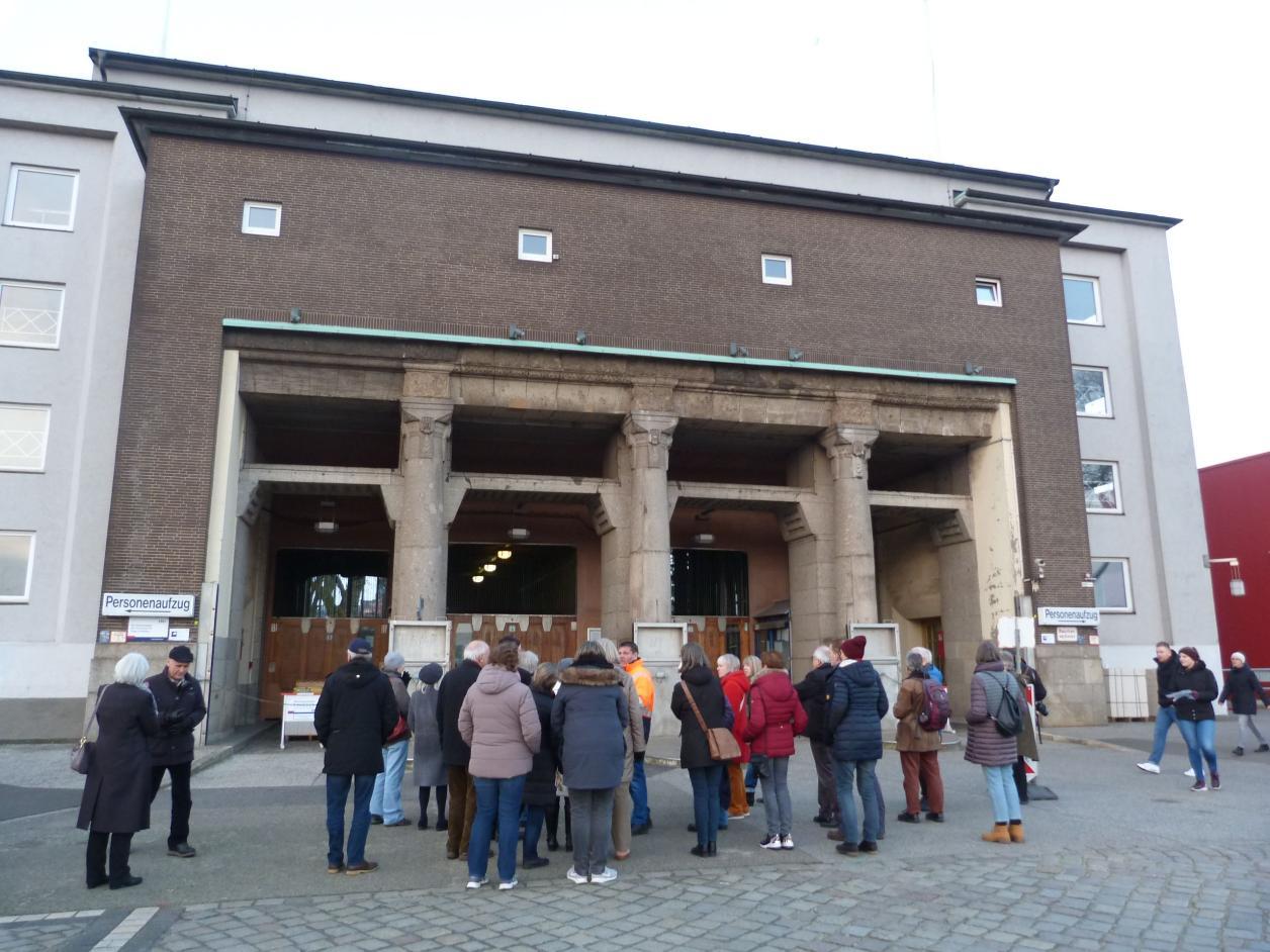 Besichtigung St. Pauli Elbtunnel