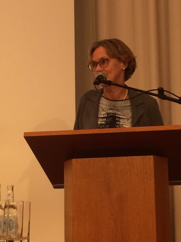Elinor Schües, Vorsitzende des Denkmalrats, Foto: Kristina Sassenscheidt