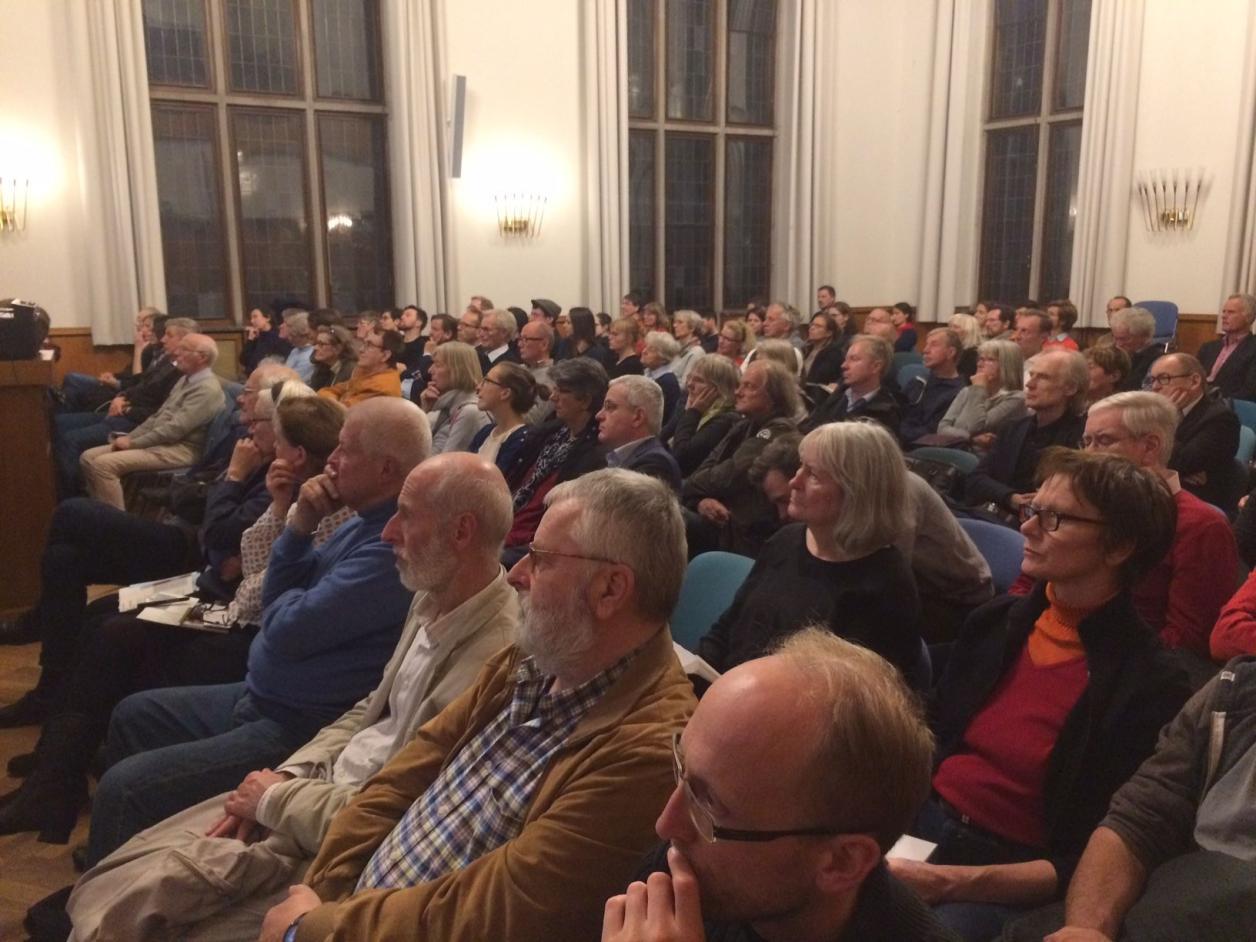 Das Publikum im Reimarus-Saal, Foto: Kristina Sassenscheidt