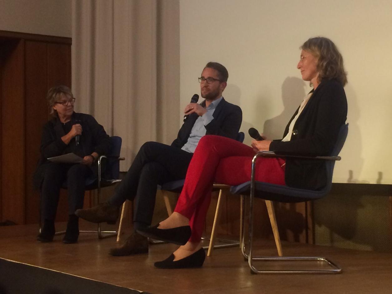 Catarina Felixmüller, Dr. Sebastian Binger und Dr. Andrea Pufke, Foto: Kristina Sassenscheidt