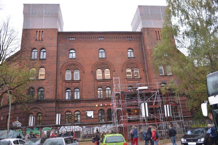 Die Viktoria-Kaserne, Foto: Yo Loewy