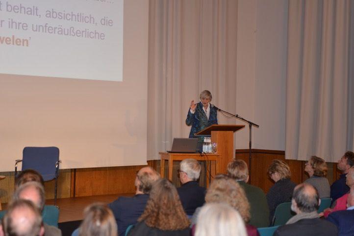 Vortrag Marieke Kuipers, Foto: Yo Loewy