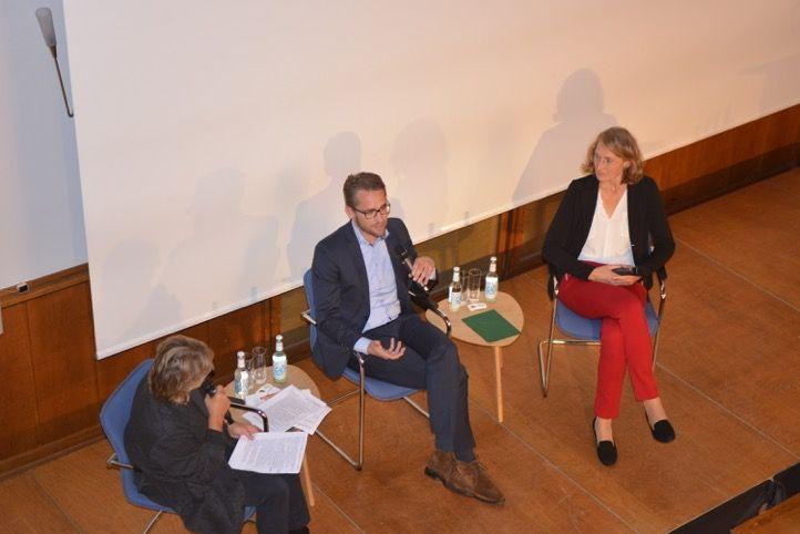 Podiumsgespräch, Foto: Yo Loewy