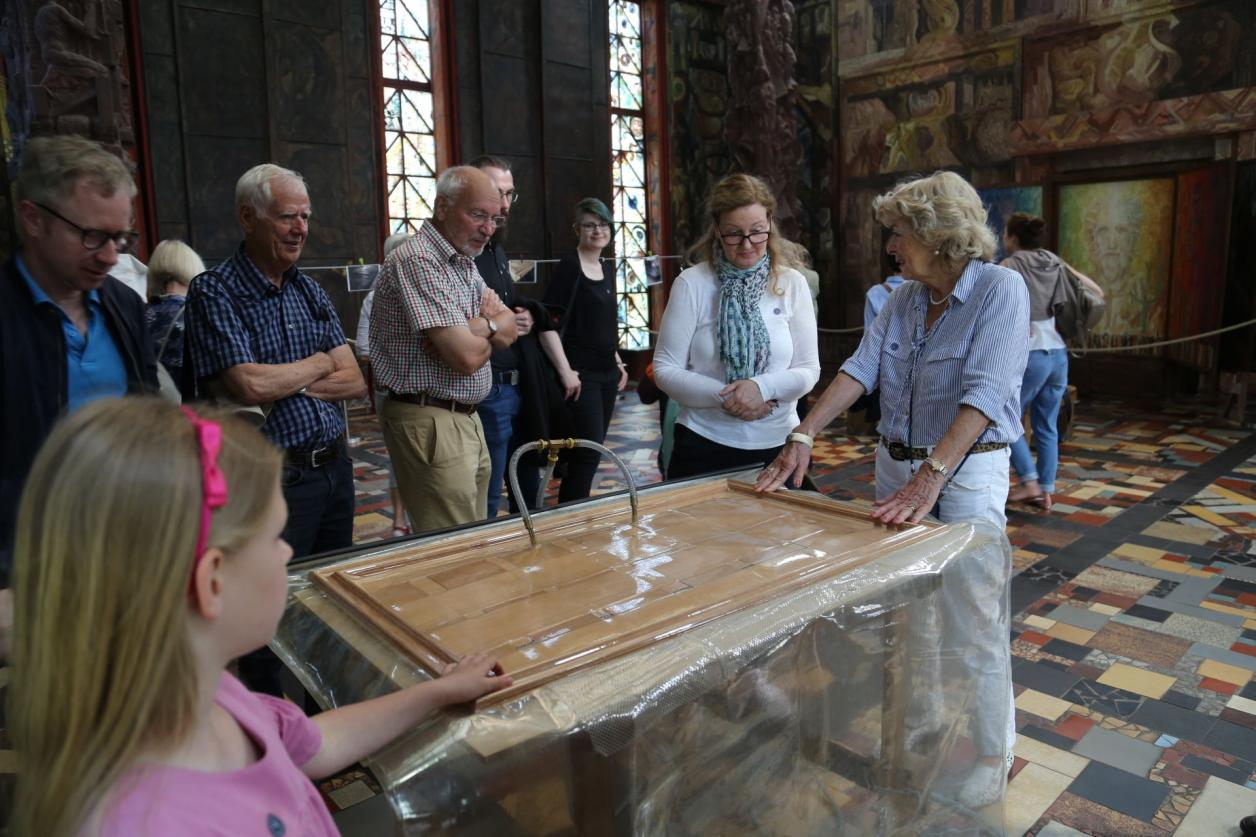 Exkursion Kunststätte Bossard Jesteburg