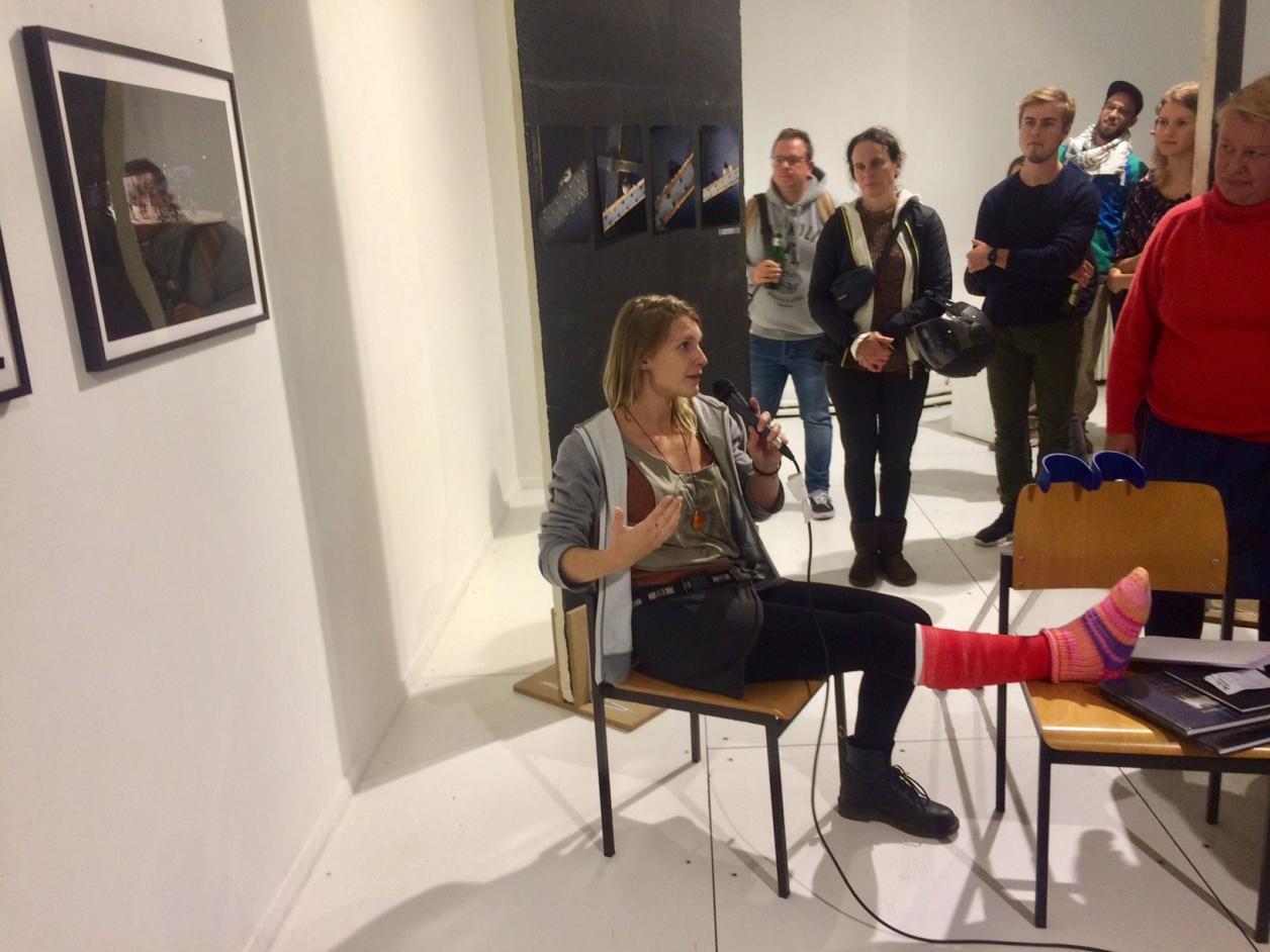 Merle Dierks bei der Preisverleihung, Foto: Kristina Sassenscheidt