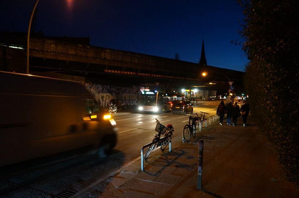 Die Sternbrücke bei Nacht, Foto: Kristina Sassenscheidt