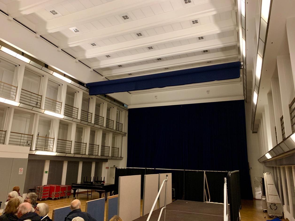 Der große Sendesaal, Foto: Kristina Sassenscheidt