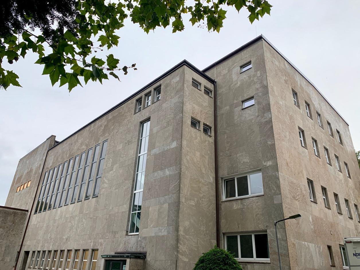 Die ehemalige Synagoge von hinten, Foto: Kristina Sassenscheidt