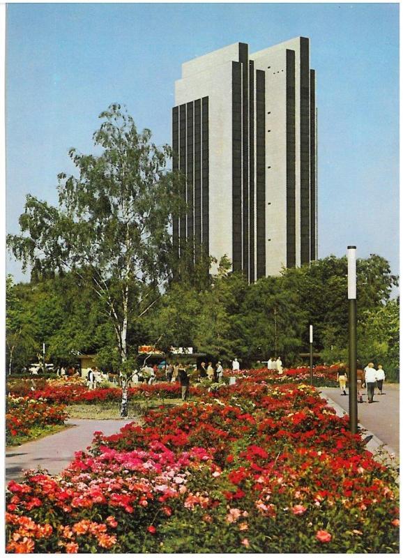IGA 1973, ehem. PLAZA-Hotel (Quelle: Archiv der Gartendenkmalpflege der Behörde für Umwelt und Energie)