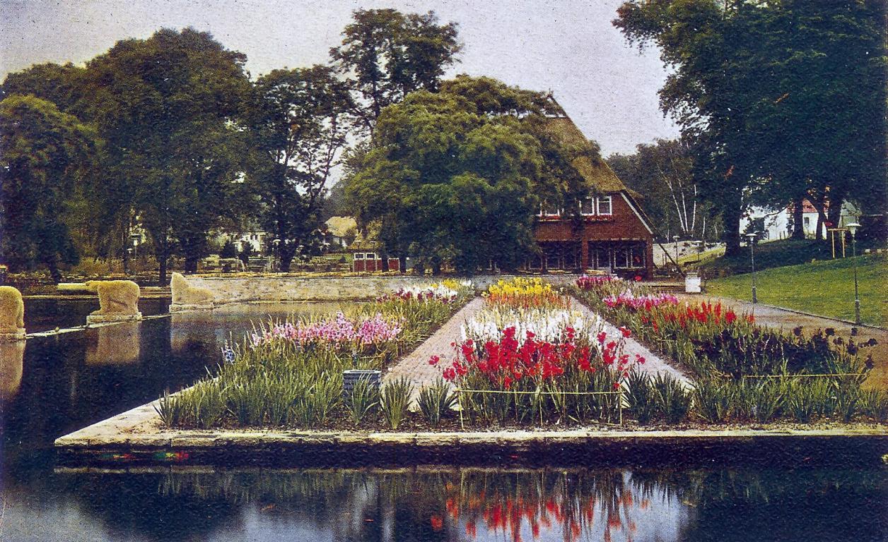 Ausstellung Planten un Blomen, 1935 (Quelle: Archiv der Gartendenkmalpflege der Behörde für Umwelt und Energie)