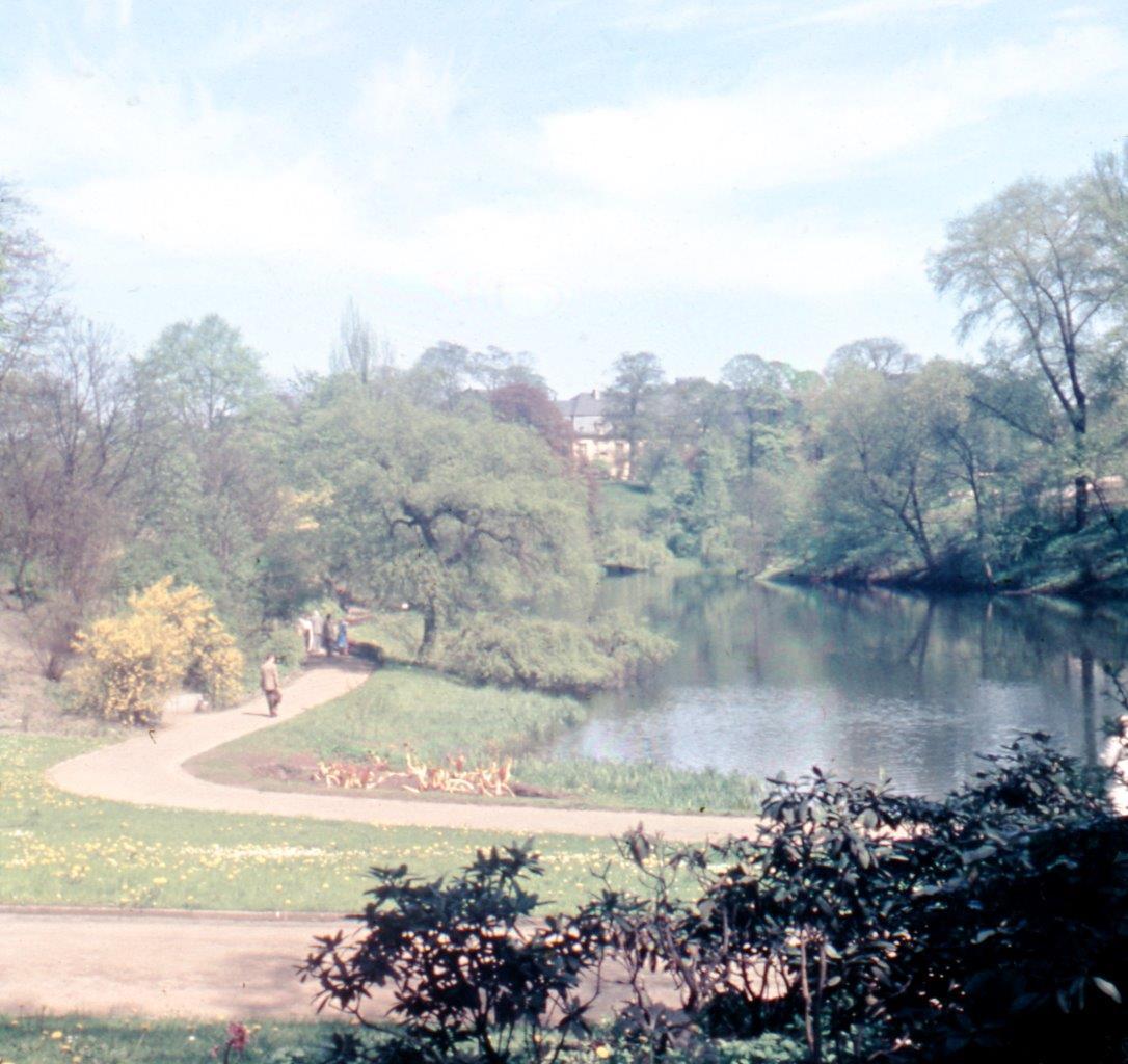 IGA 1963 (Quelle: Archiv der Gartendenkmalpflege der Behörde für Umwelt und Energie)