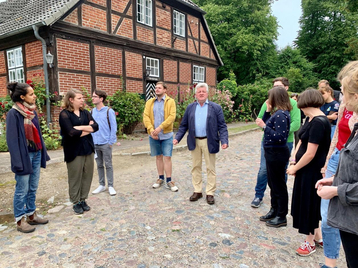 Dr. Michael Paarmann, Landeskonservator von Schleswig-Holstein a.D., Foto: Kristina Sassenscheidt