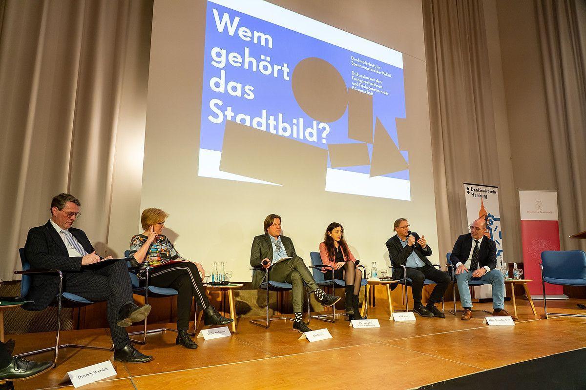 """Diskussion: """"Wem gehört das Stadtbild?"""""""