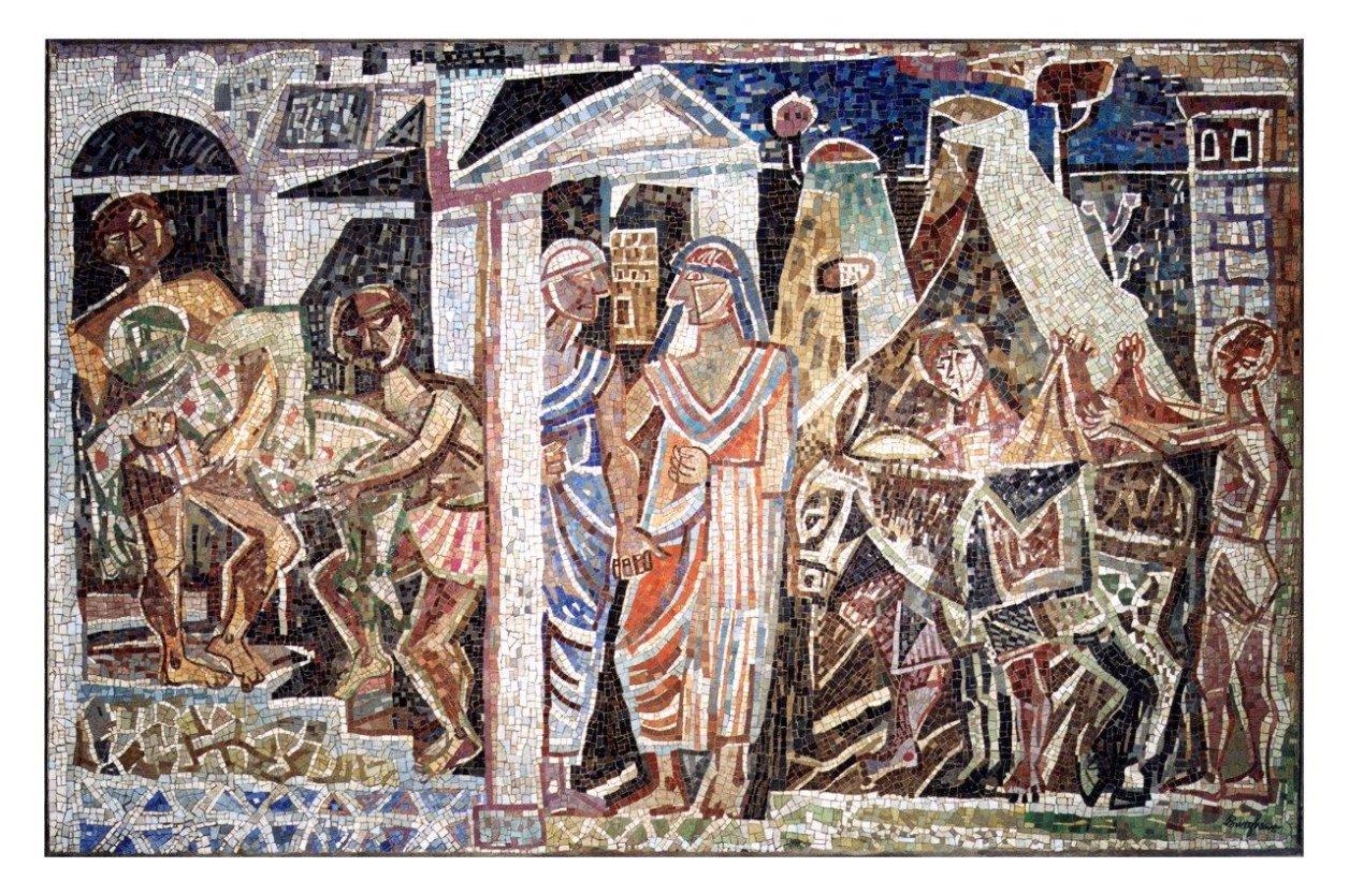 Restaurierung Bargheer-Mosaik