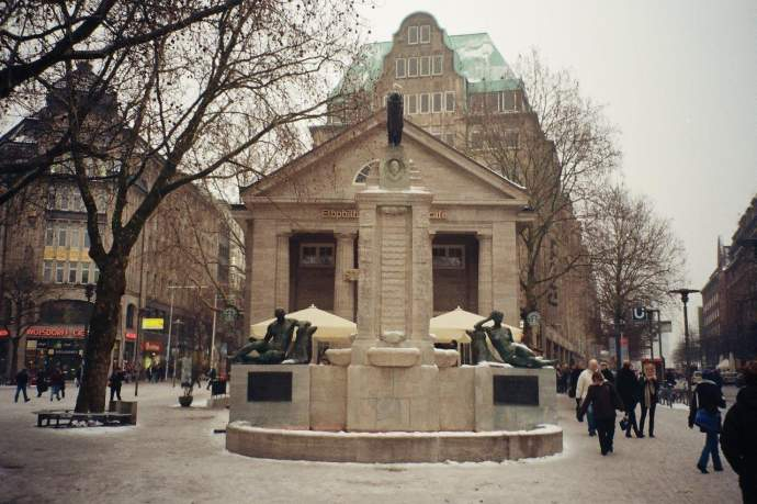 Restaurierung Mönckebergbrunnen