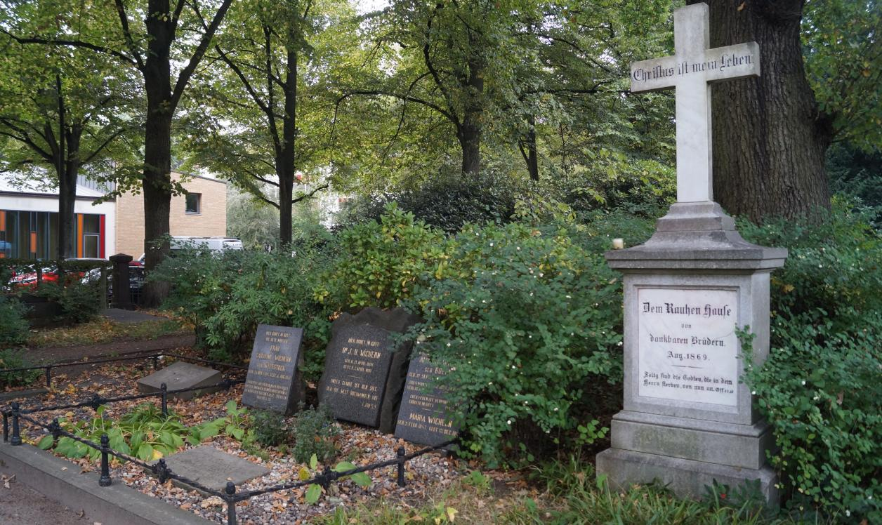 Gräber der Familie Wichern, Foto: Antipas Papageorgiou