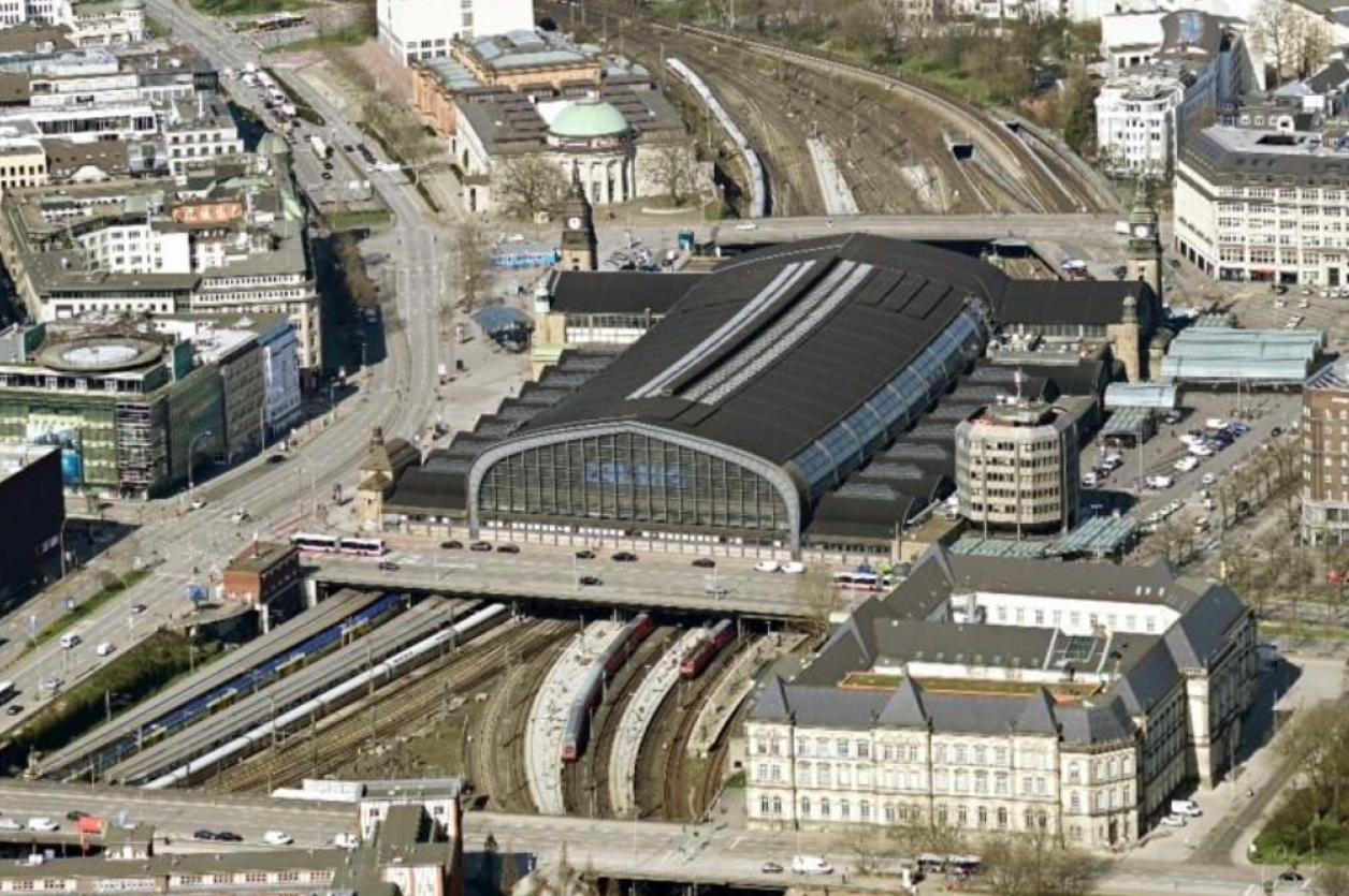 Luftbild: Deutsche Bahn