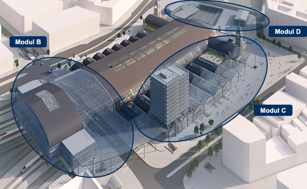 Machbarkeitsstudie, Visualisierung: Deutsche Bahn