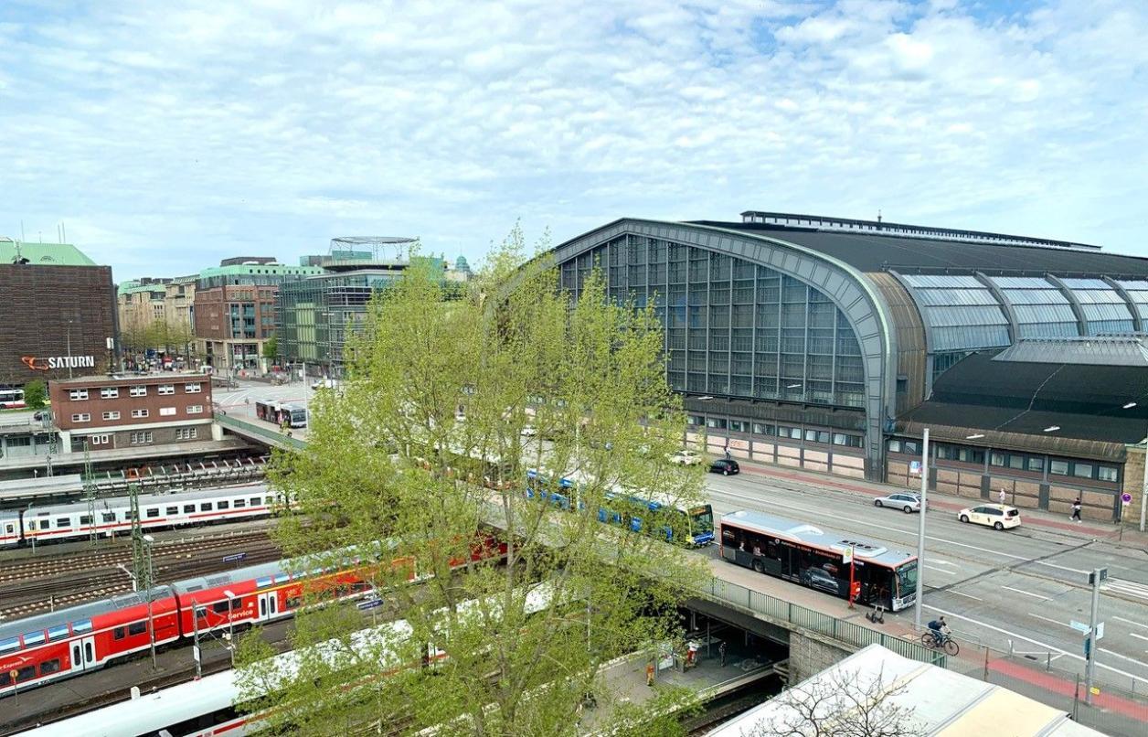 Südfassade Hauptbahnhof, Foto: Kristina Sassenscheidt