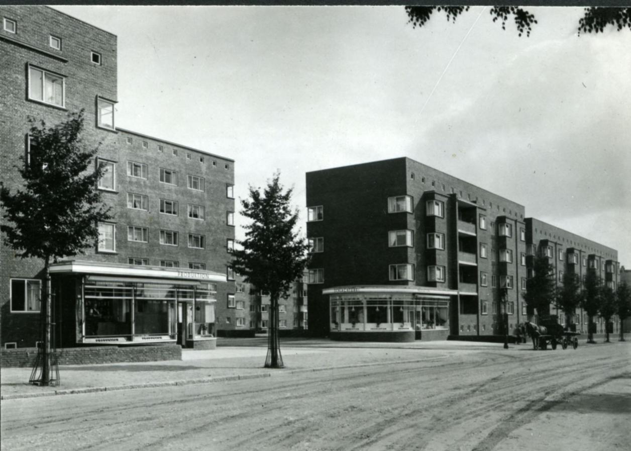 Historische Aufnahme: Brüder Dransfeld, Hamburgisches Architekturarchiv