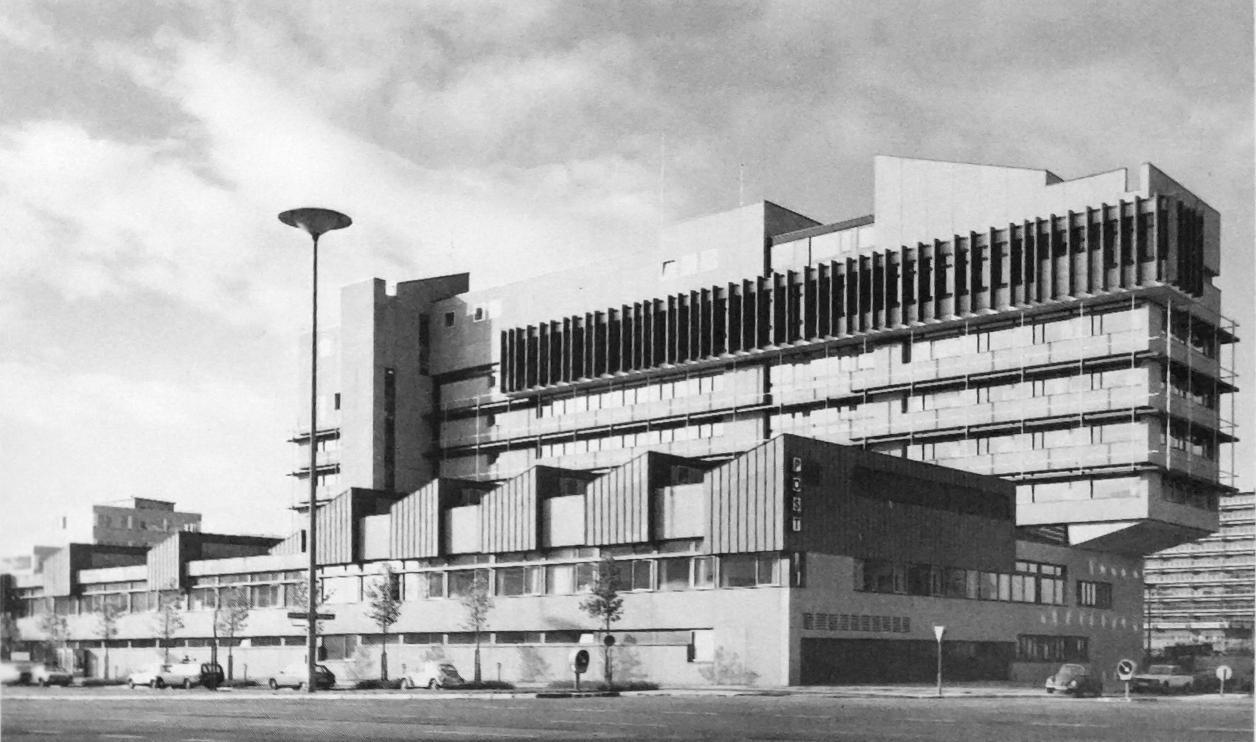 Historisches Foto: Hamburg und seine Bauten