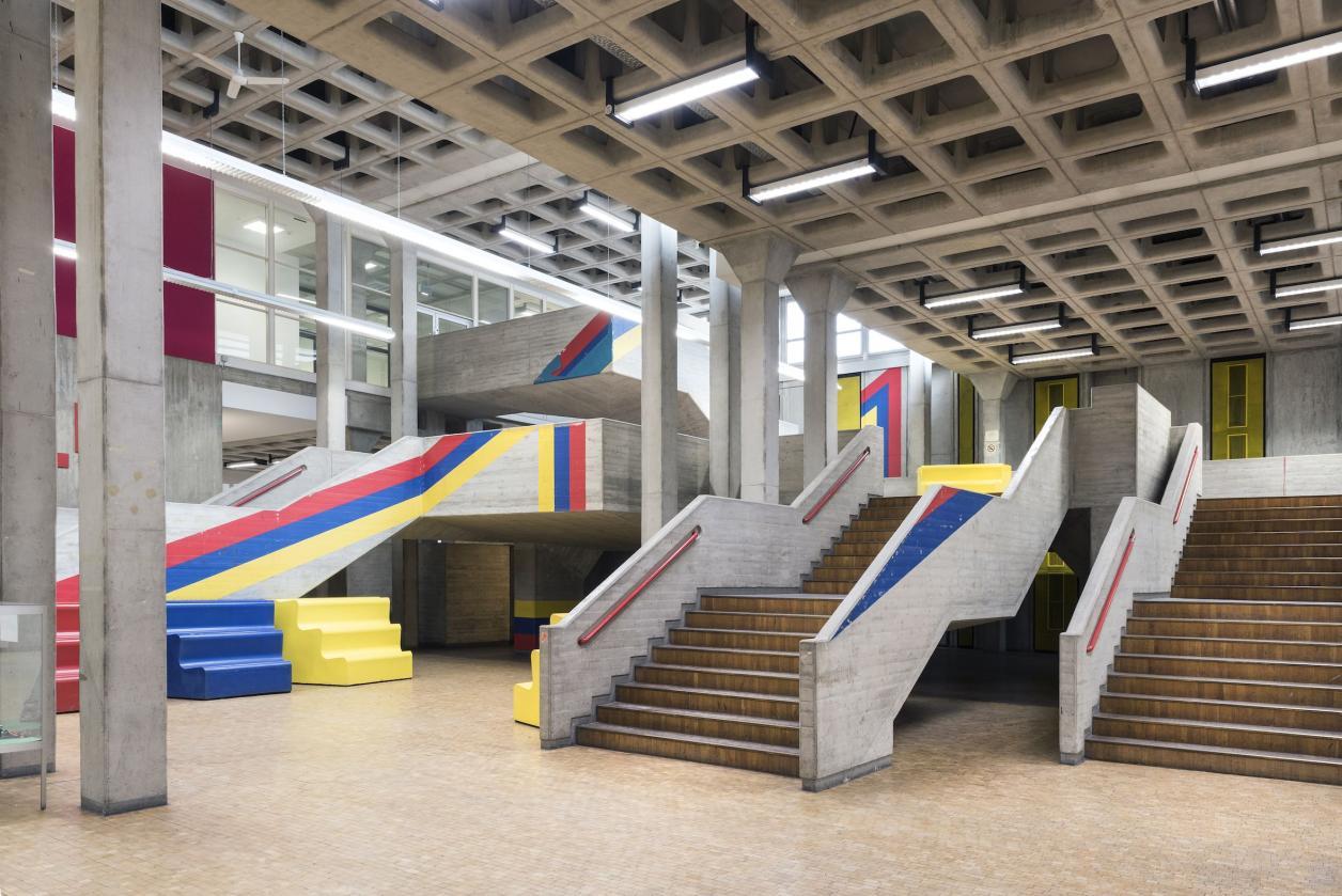 FH Bergedorf: Unklare Zukunft für Meisterwerk des Brutalismus