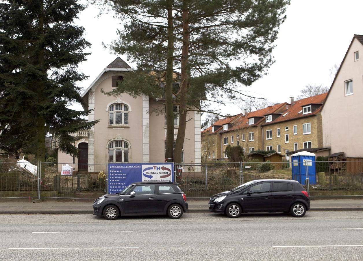 Jugendstil-Villa vor dem Abriss, Foto: Stefan Bick