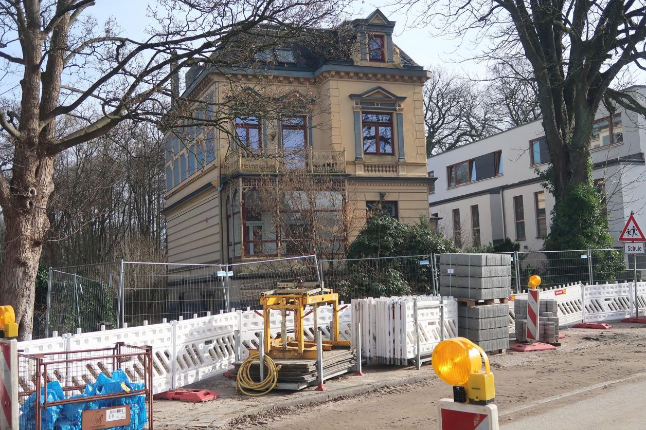 Lokstedter Gründerzeitbau verfällt
