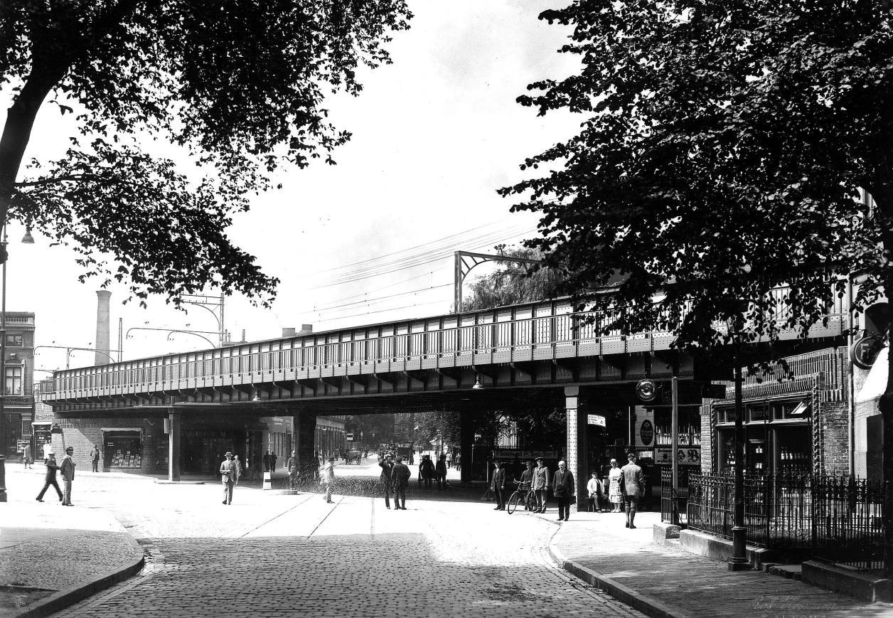 Die Sternbrücke kurz nach der Bauzeit, Foto: Hamburg-Motiv.de
