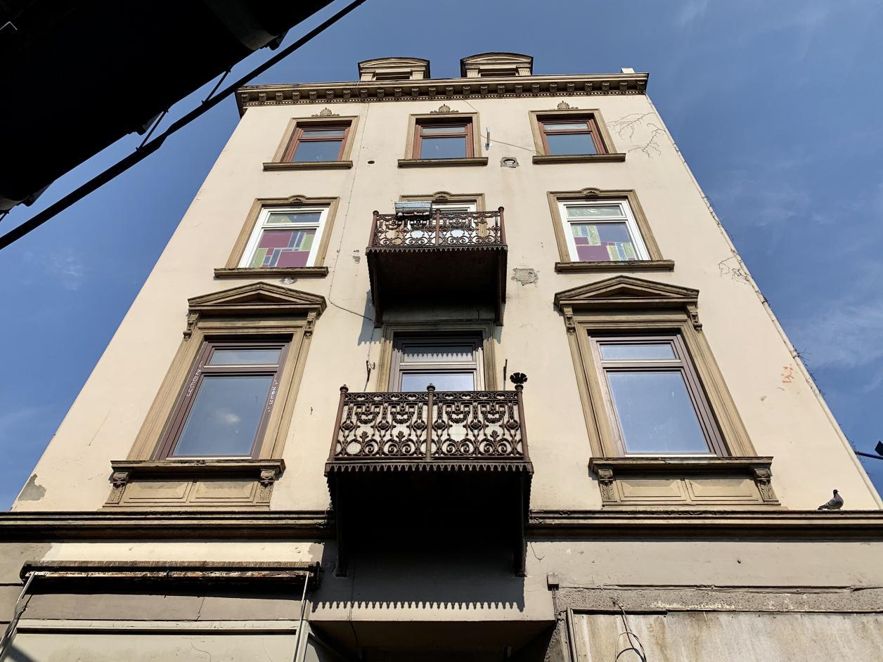 Das markante Gründerzeit-Gebäude ist für den Abbruch vorgesehen. Foto: Kristina Sassenscheidt