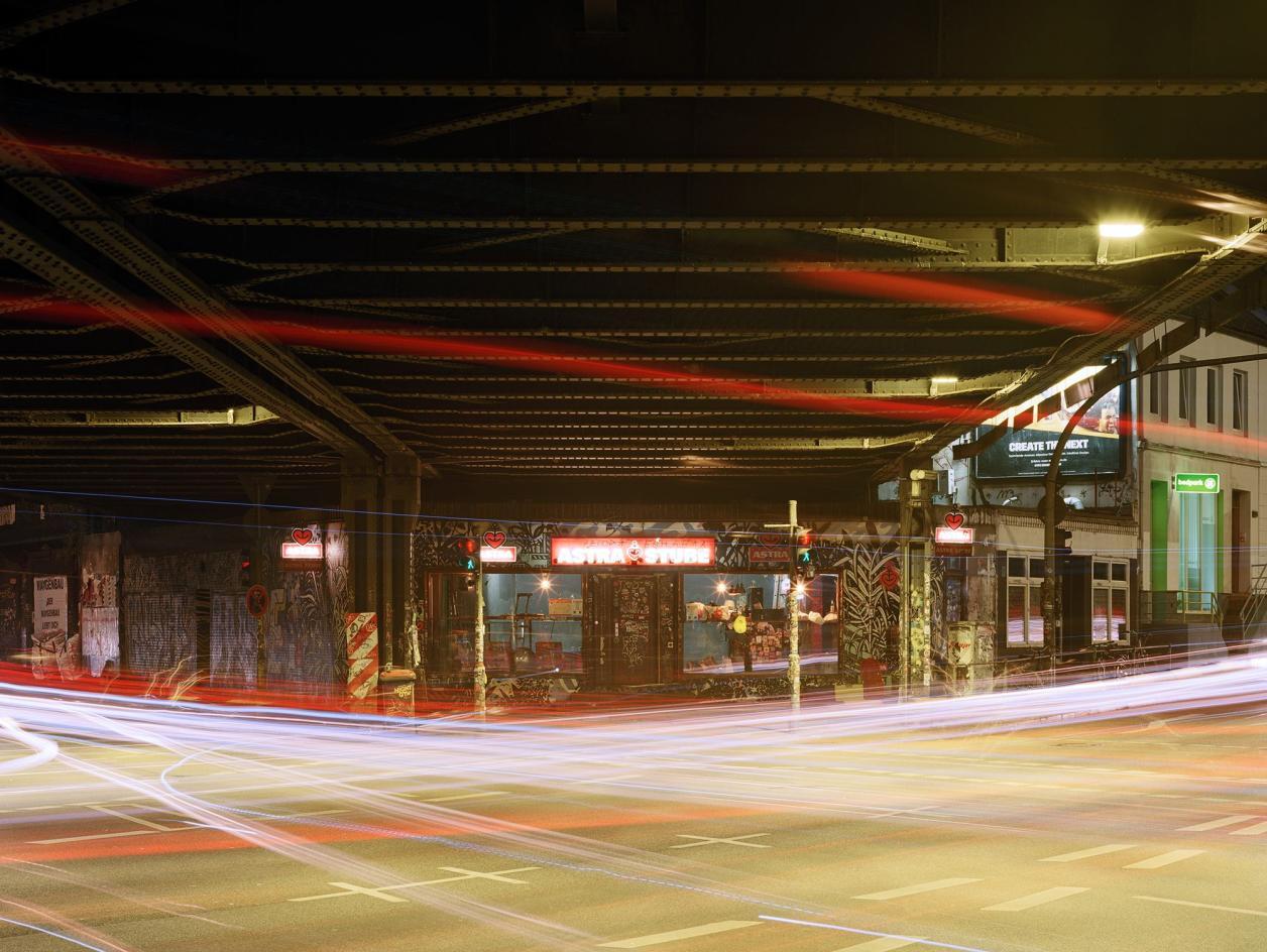 Die Sternbrücke bei Nacht, Foto: Fotografie Dorfmüller Klier