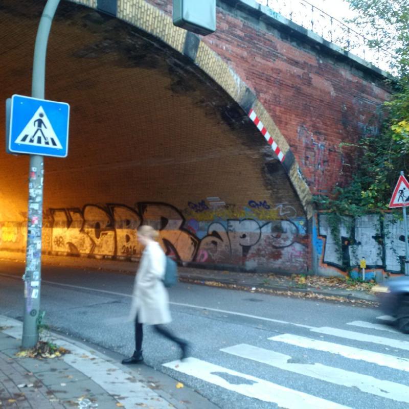 Eisenbahnüberführung Plöner Straße, Foto: Michael Jung