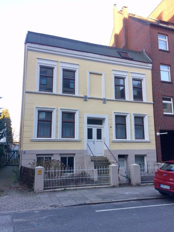Leer stehendes Gründerzeithaus Isebekstraße, Foto: Kristina Sassenscheidt