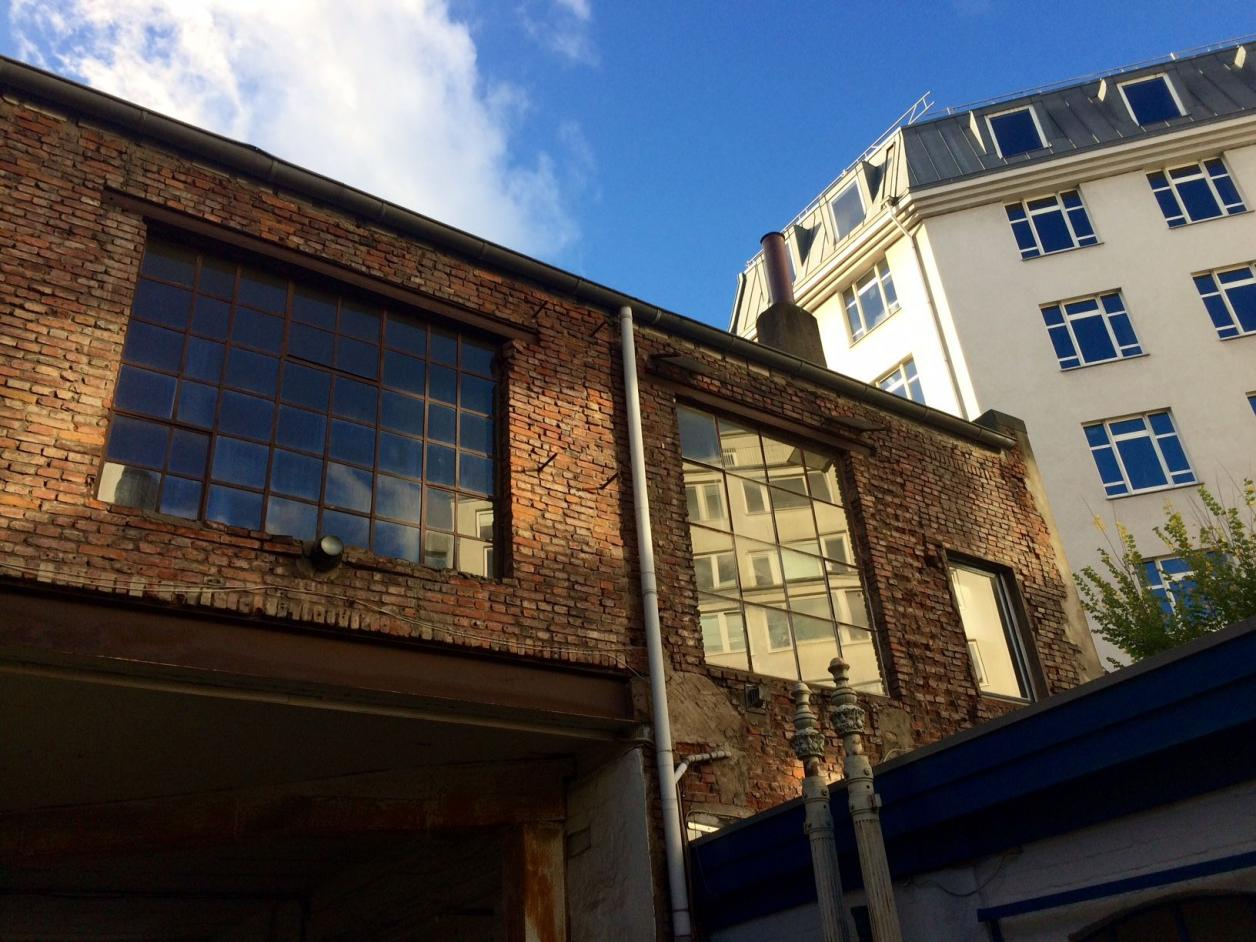 Portalgebäude von hinten, Foto: Kristina Sassenscheidt