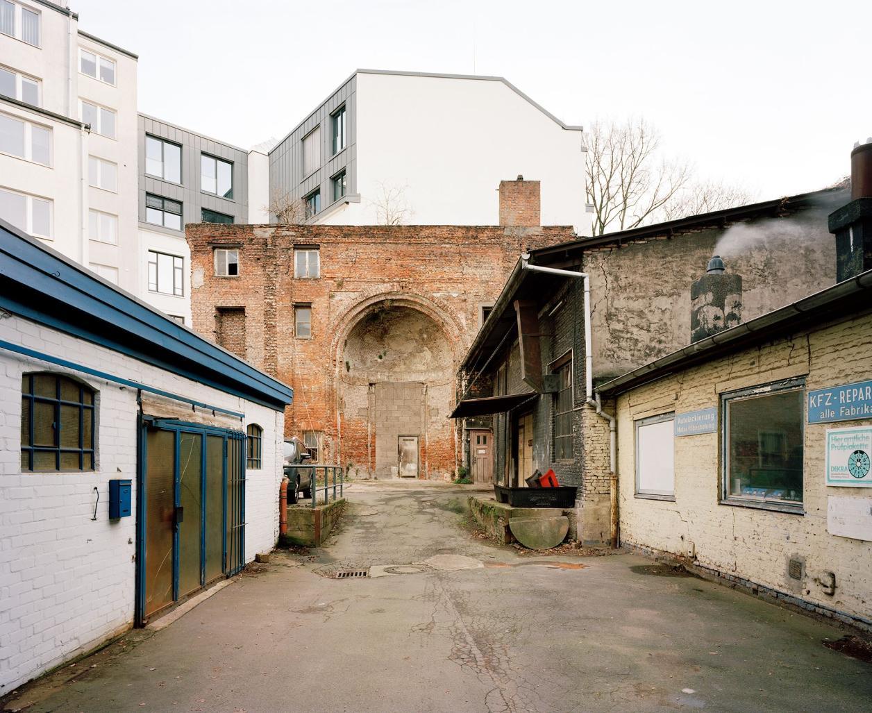 Innenhof, Foto: Fotografie Dorfmüller | Klier