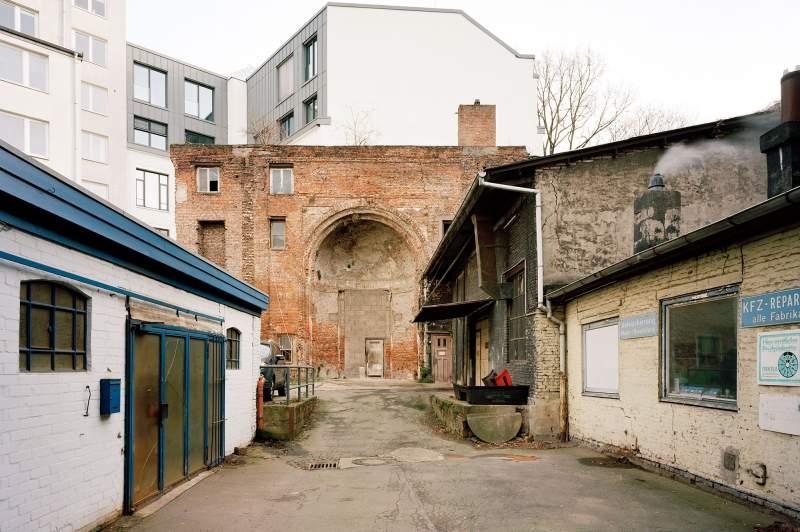 Ehemaliger Tempel Poolstraße