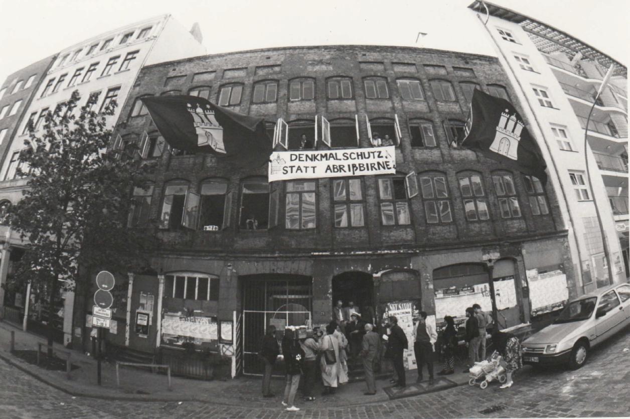 Foto aus dem Artikel der taz 06.05.1989, Foto: taz