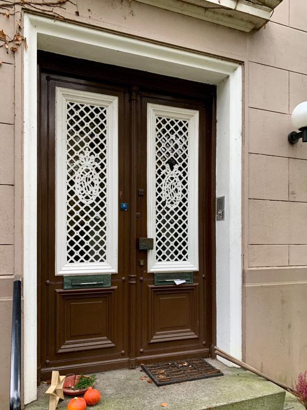 Bauzeitliche Tür, Foto: Kristina Sassenscheidt