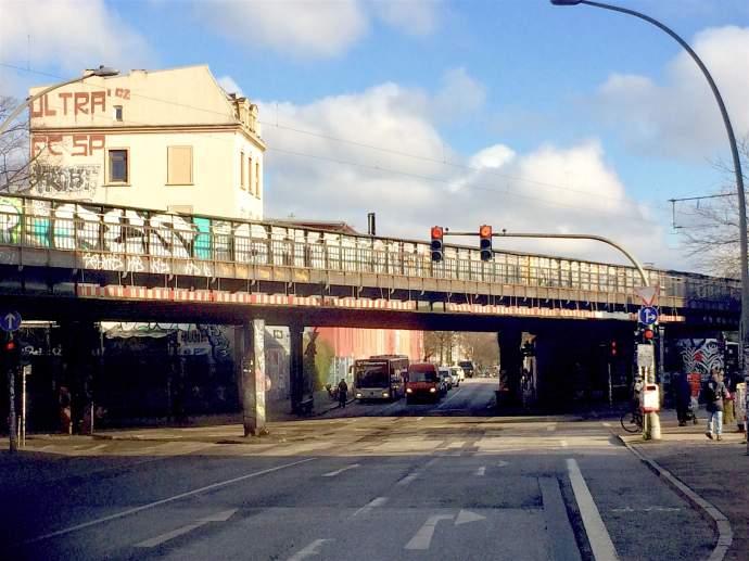 Abriss der Hamburger Sternbrücke : Tage der Clubs sind gezählt